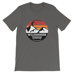 Wilderness Kitesurfing Adventure - 100% cotton Kitesurfing T-shirt