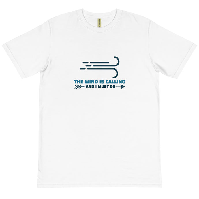 Wind is Calling - Gust - 100% Organic Cotton Kitesurfing T-shirt