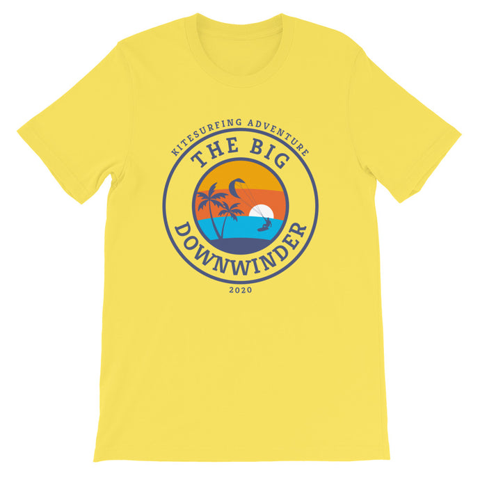 The Big Downwinder - 100% cotton Kitesurfing T-shirt