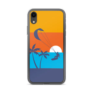Kitesurfing Sunset - iPhone Case (BPA free)