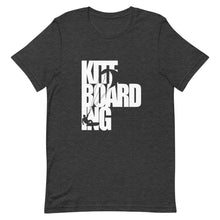 Load image into Gallery viewer, Kiteboarding Cutout - 100% cotton Kitesurfing T-shirt