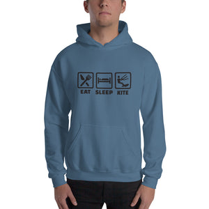 Eat Sleep Kite - Kitesurfing Hoodie