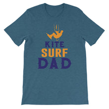 Load image into Gallery viewer, Kitesurf Dad T-shirt - 100% cotton Kitesurfing T-shirt