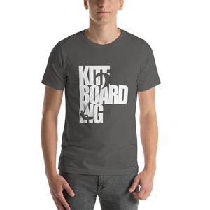 Kiteboarding Cutout - 100% cotton Kitesurfing T-shirt
