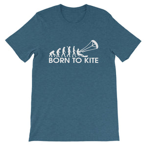Born to Kite Evolution - 100% cotton Kitesurfing T-shirt