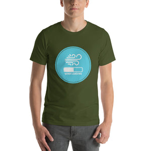 Wind Loading - 100% cotton Kitesurfing T-shirt