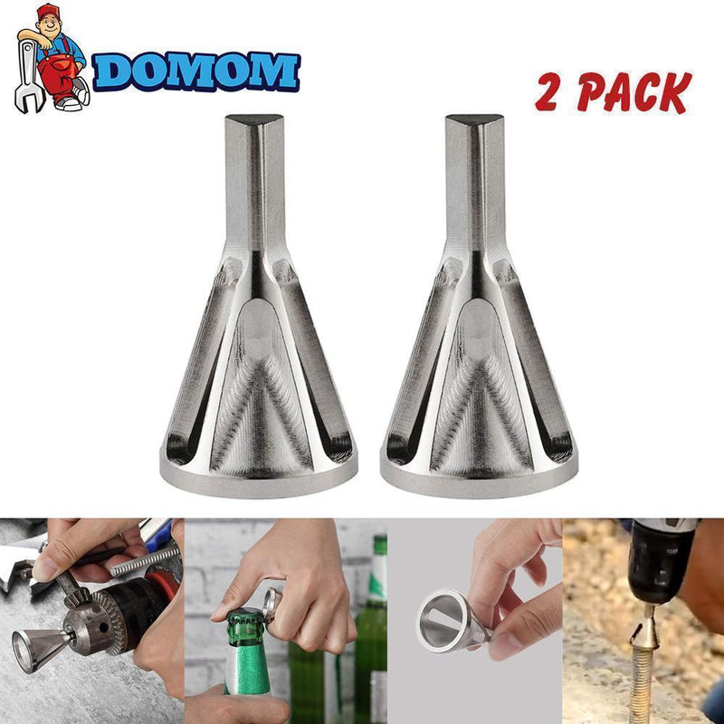 DOMOM Deburring External Chamfer Tool for Drill Bit, 2 Pack