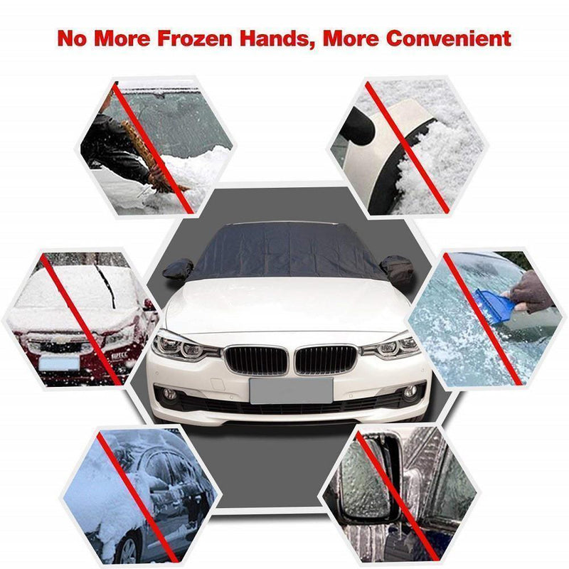 Hirundo Magnetic Car Anti-snow Cover