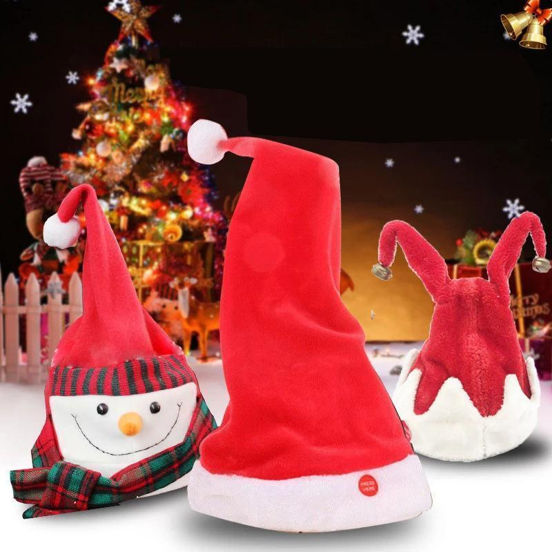 Twerking Santa Electric Hat