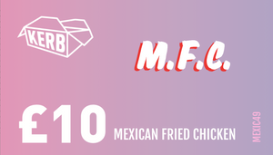 Support Mexican Fried Chicken!