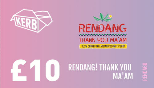 Support Rendang! Thank You Ma'am!