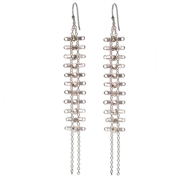 Artemis Earrings in Sterling Silver