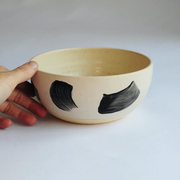 Aube Bowl with Brushstrokes