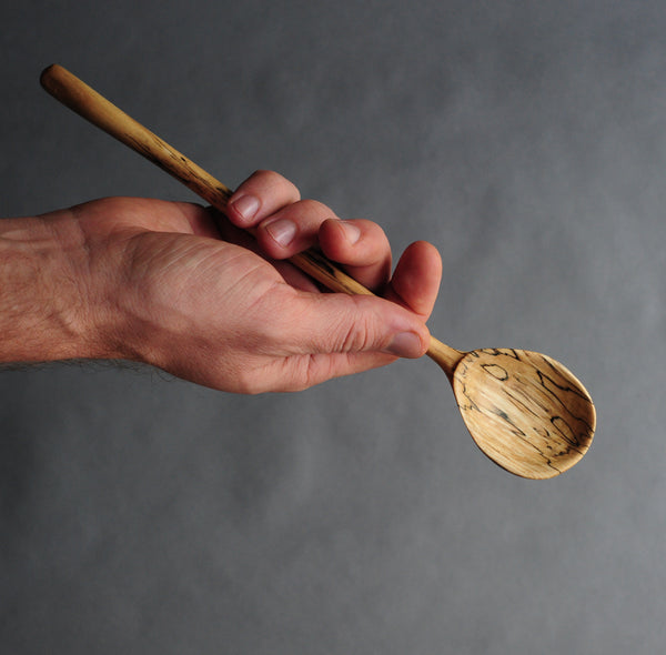 Large Spoon in Spalted Maple 01