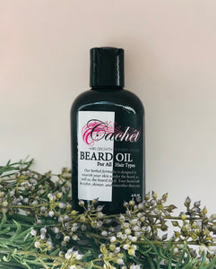 BLACK FRIDAY DEAL Cachét Growth Therapy BEARD Oil - For Men and SILK SHINE Oil