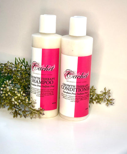 Cachét Growth Therapy CLEANSE, CLARIFY and CONDITIONER System
