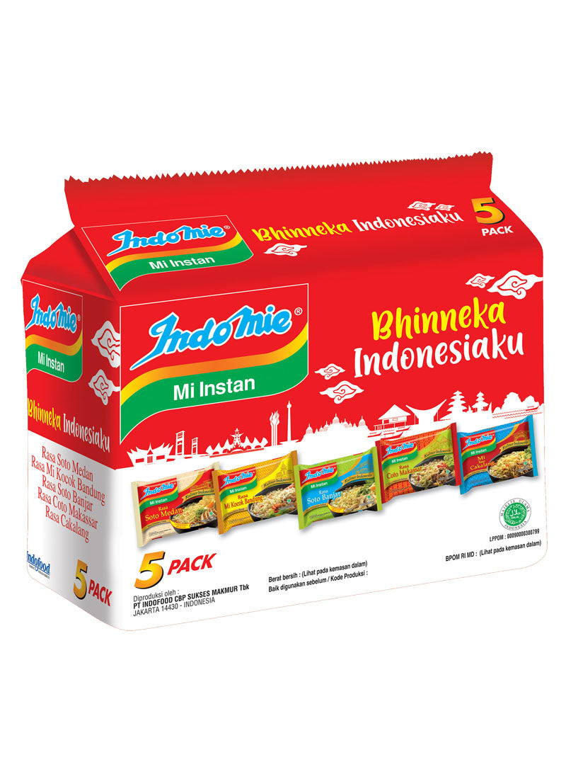 Indomie Mie Instant Bhineka Indonesia 5'S