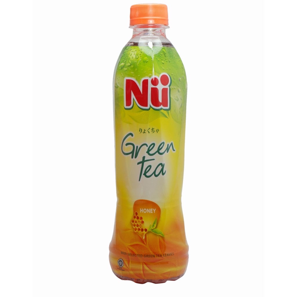 Nu Minuman green Tea Honey [500mL]