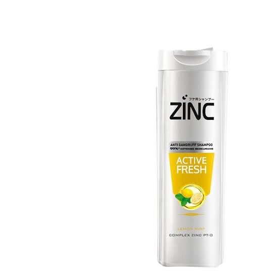 Zinc Shampoo A/K Active Fresh Lemon Mint [170mL]