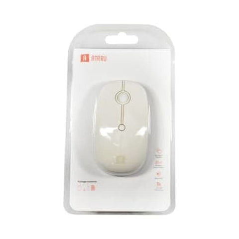 Ataru Mouse Wireless 2.4g - Putih