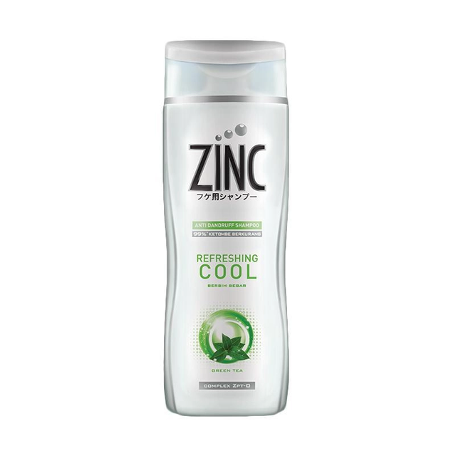 Shampoo Zinc Refresing Cool Botol [340mL]