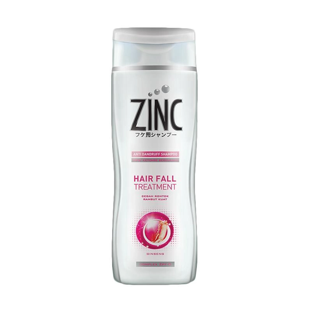 Shampoo Zinc Hairfall Treatment Botol [340mL]