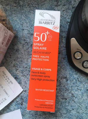 Spray Solaire 50 Algamaris