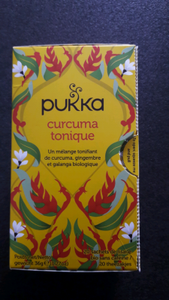 Infusion Curcuma Tonique Pukka