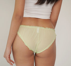 PEACH ME BRIEF lime