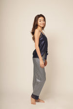 HAILEY LONG PANT SET Indigo