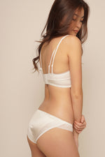 HEIDI BRALETTE SET Pure White