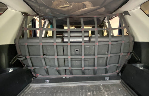 4Runner 4th OR 5th Gen (2010 and newer) Rear Barrier Net