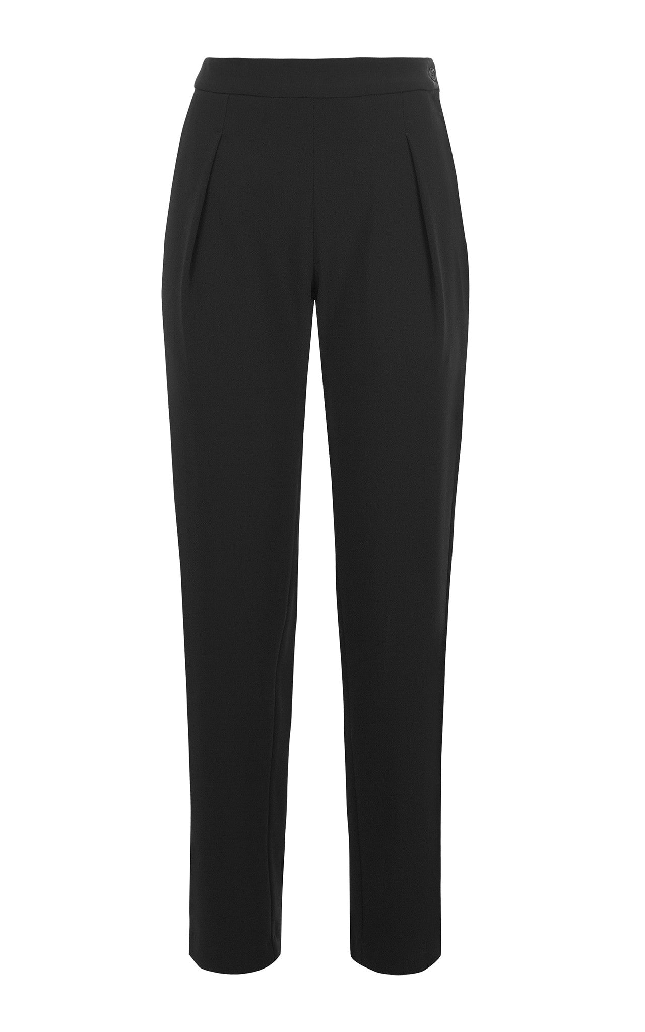 Antipodium Black Cady Tailored Trousers