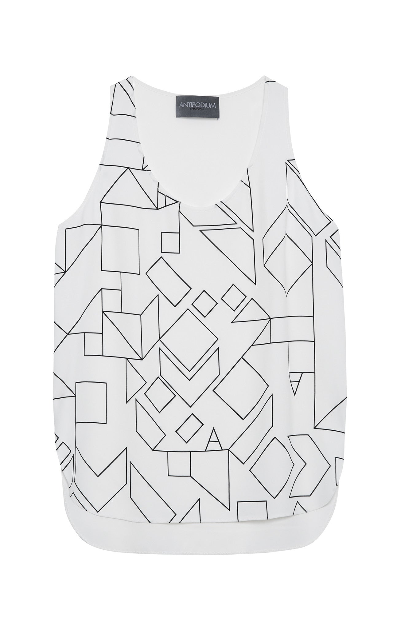 Antipodium Wireframe Cady Tank Top