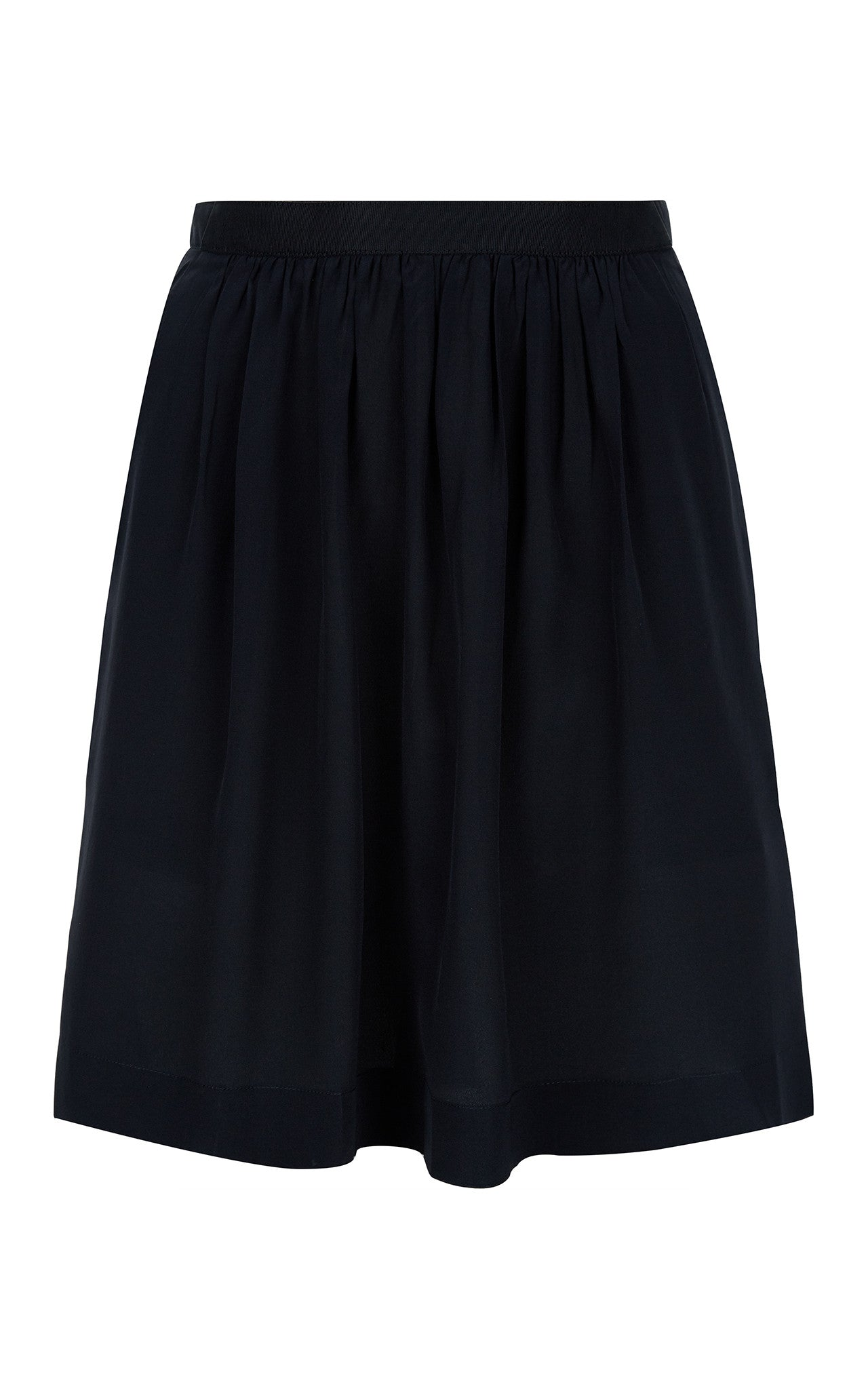 Antipodium Cosmic Black Silk Skirt Limited Edition Front