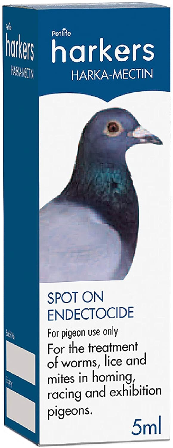 Harkers Harka Mectin Pigeon Treatment 5ml Spot On Drops - KKBOnline