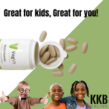 Load image into Gallery viewer, Vegetology - Vegan Multivitamins and Minerals 90 tabs - KKBOnline