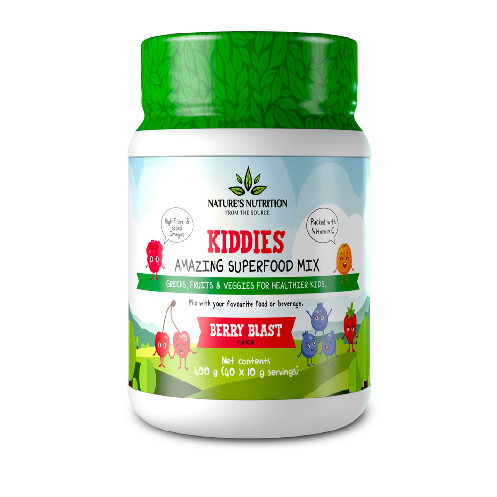 Natures Nutrition - Super Greens & Reds Kiddies Berry Blast