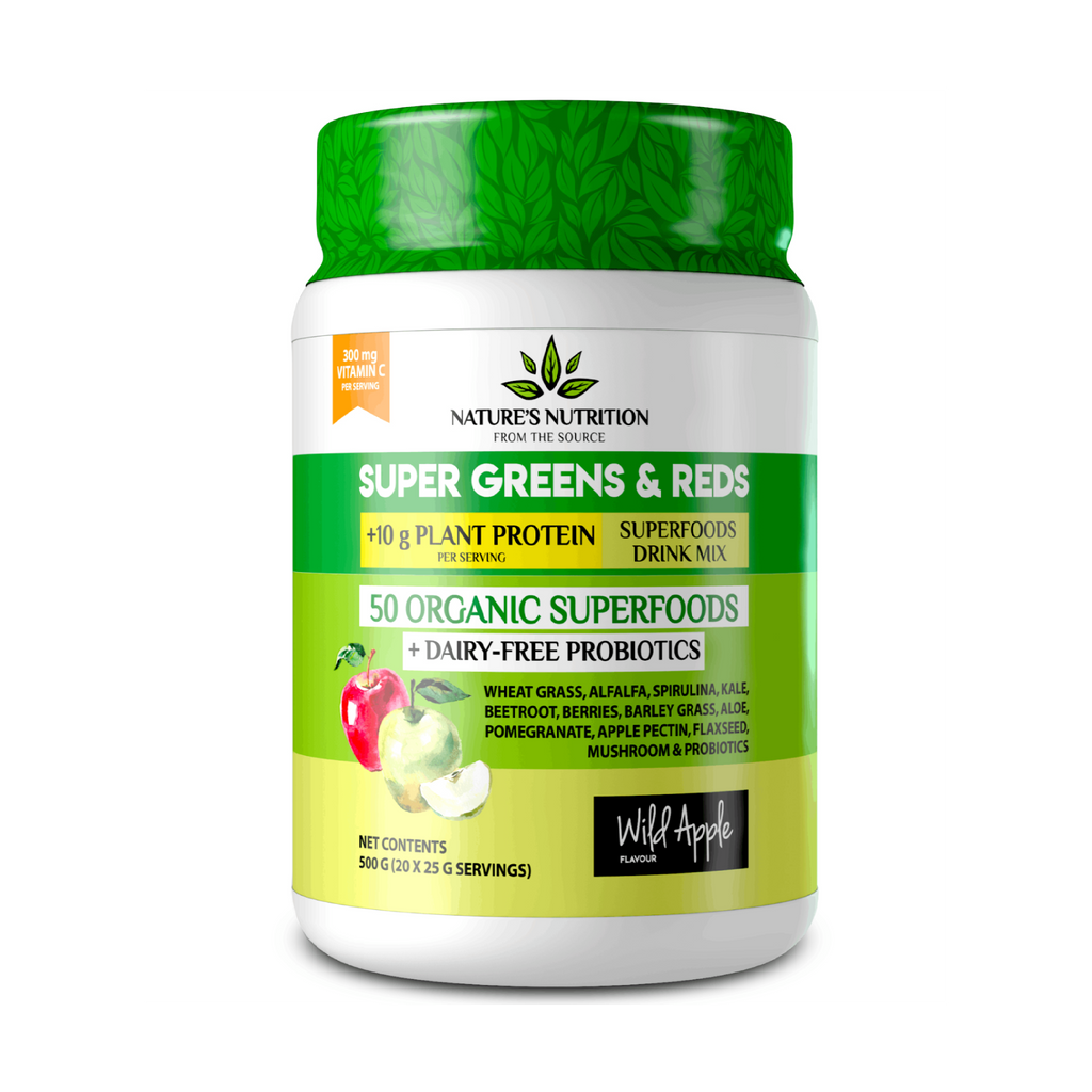 Natures Nutrition - Wild Apple Superfoods Drink Mix