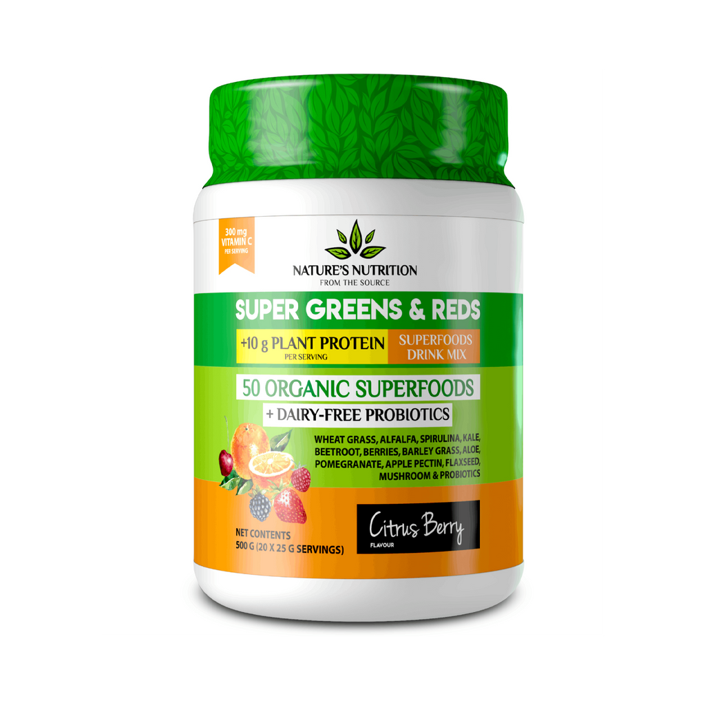 Natures Nutrition - Citrus Berry Superfoods Drink Mix