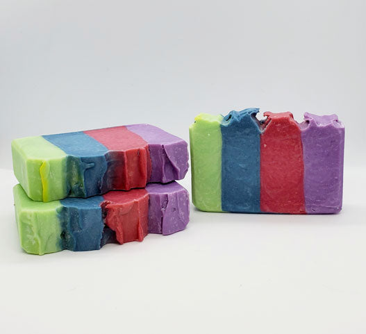 Rainbow Row Soap