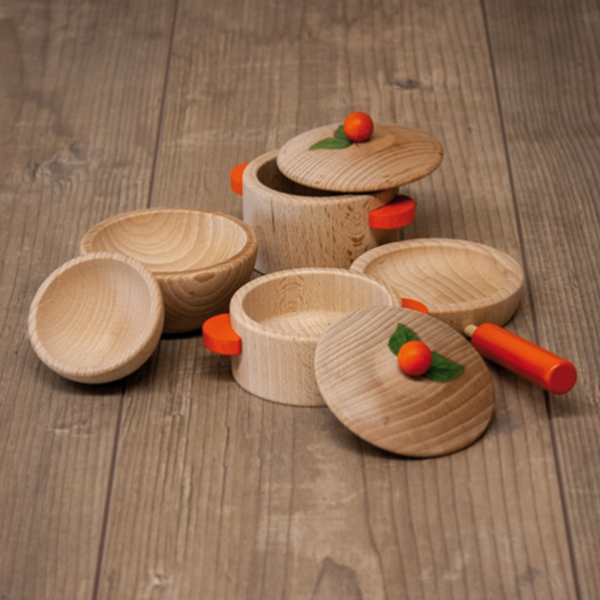 Wood Cooking Set