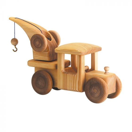 Wooden  Breakdown Crane