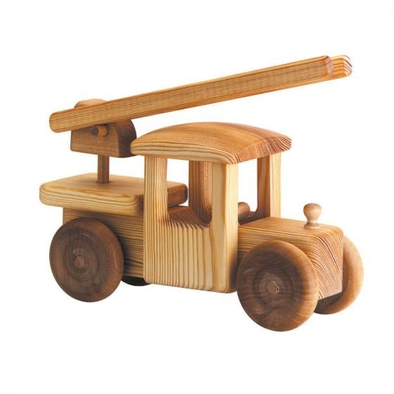 Wooden fire turck