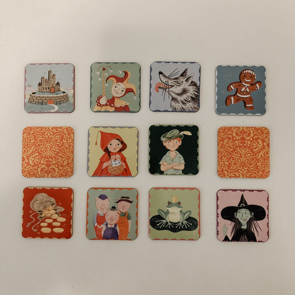 Fairytale mini memory game