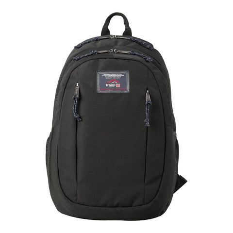"TB003 Troop London Heritage 15"" Laptop Backpack - Vegan Backpack Eco-Friendly"