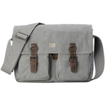 TRP0210 Troop London Classic Canvas Messenger Bag