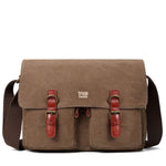 TRP0210 Troop London Classic Canvas Messenger Bag - Troop London