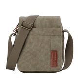 TRP0220 Troop London Classic Canvas Across Body Bag