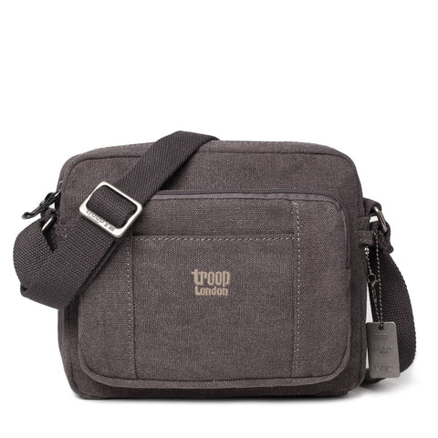 TRP0235 Troop London Classic Canvas Across Body Bag